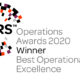 IFF REsearch win Best Operational Excellence award 2020
